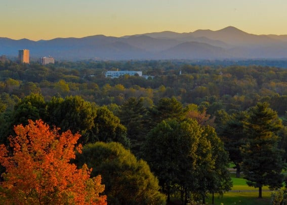 Sunset Omni Grove Park Inn in Asheville North Carolina is a best bet for families