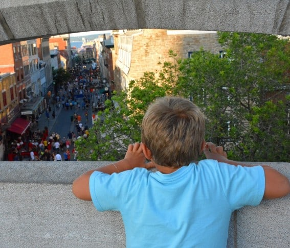 The Fortifications of Quebec are part of Parks Canada where kids can earn Xplorer tags
