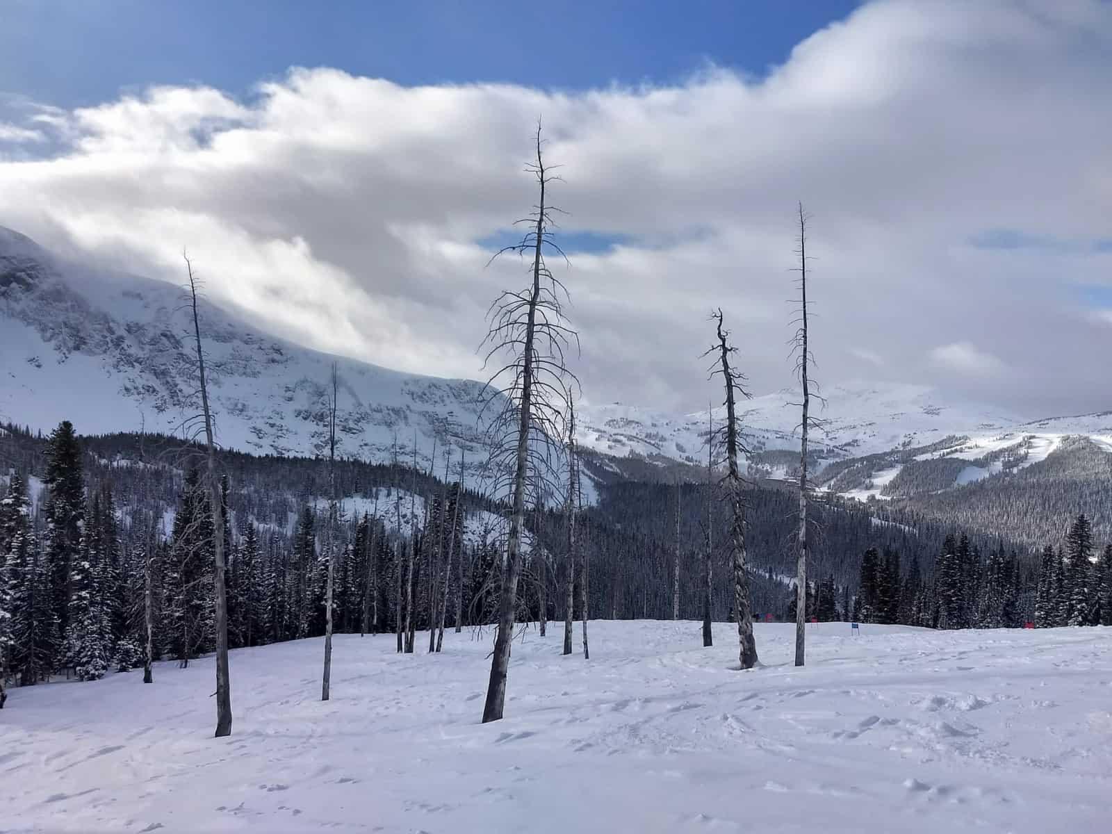 Banff Sunshine Village Banff in winter