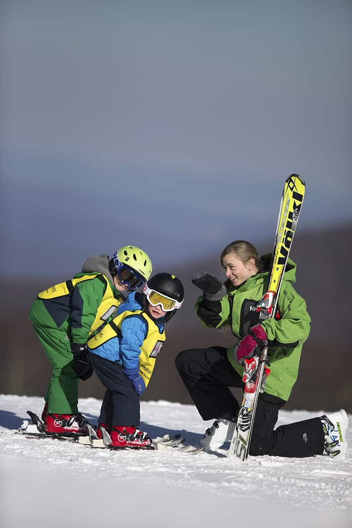 Best Skiing in the Southeast for families Wintergreen Resort