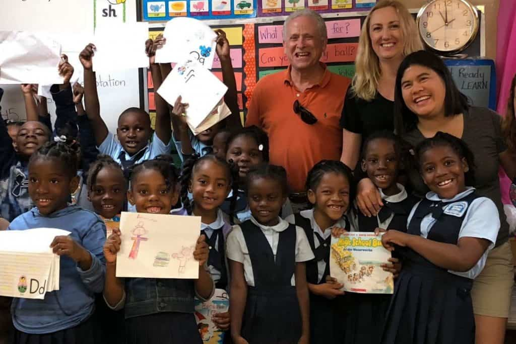 Volunteering with the Sandals Foundation