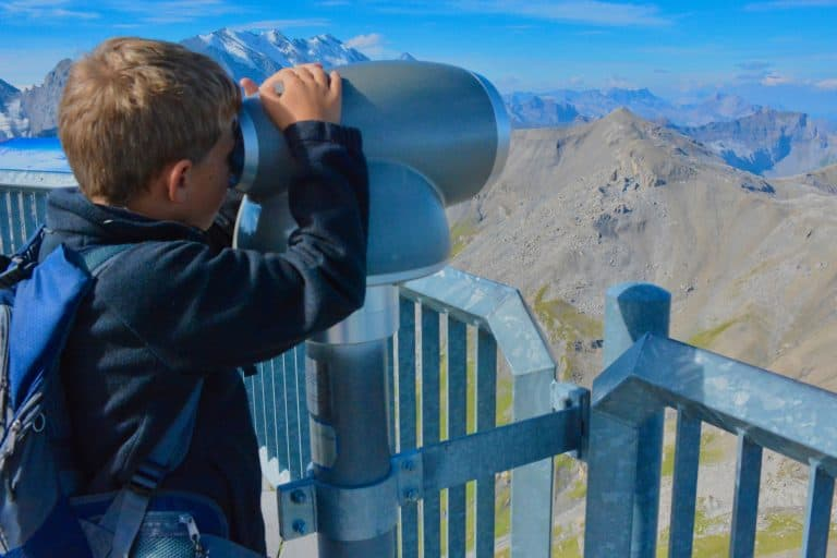 Switzerland Travel Schilthorn with Kids