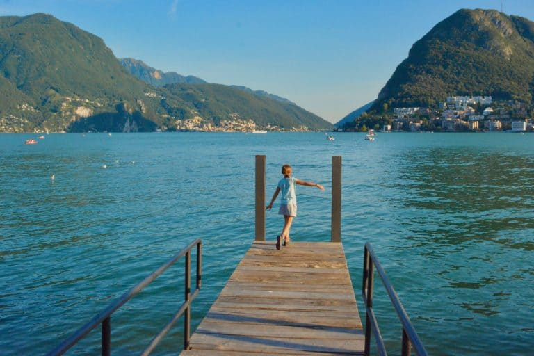 Switzerland Travel with Kids in Lugano