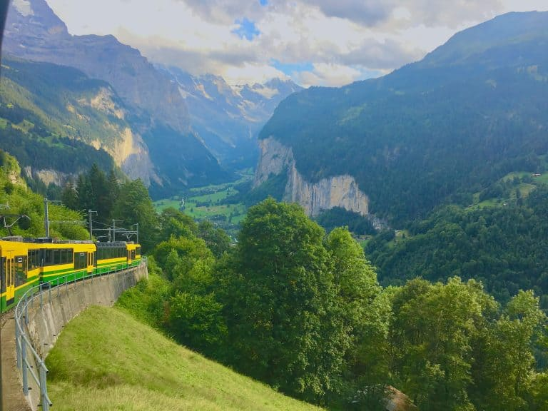 Swiss Travel Pass by train