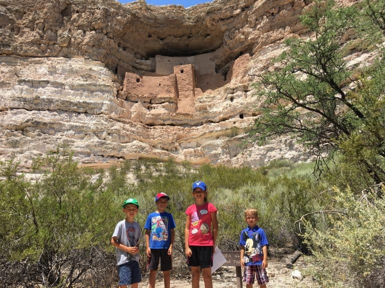 things to do in Sedona with kids Montezumas Castle