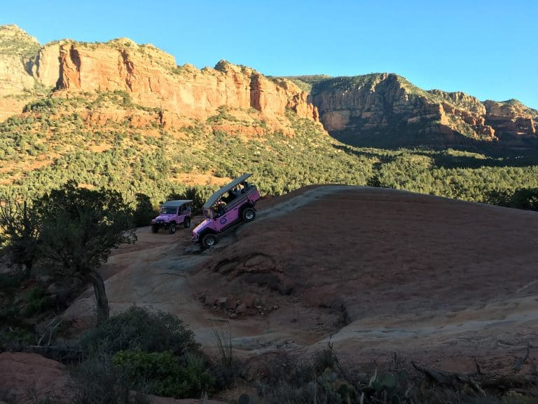 things to do in Sedona with kids jeep tours