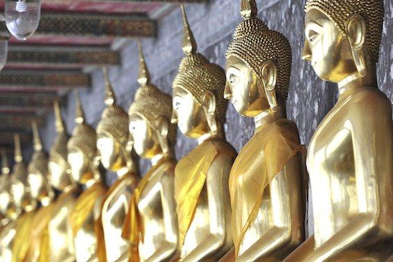Wat Suhhat in Bangkok, Thailand