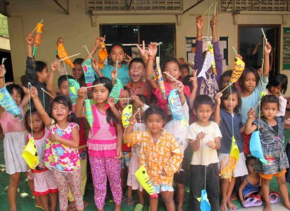 Journey's Within Our Community Art Class in Siem Reap
