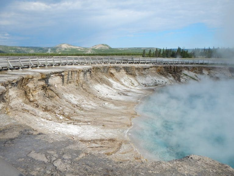 Yellowstone National Park is one of the best national Parks for hiking
