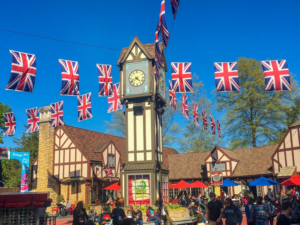 Things to do in Williamsbug with Kids Busch Gardens Williamsburg