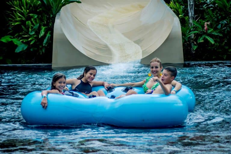 Costa Rica with kids - Arenal Hotspring Waterpark