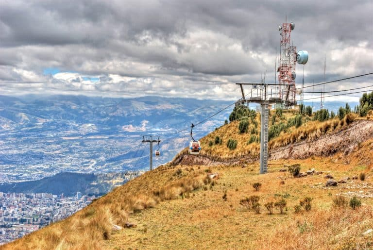 Quito Travel - Pichincha Teleférico, Cable Car