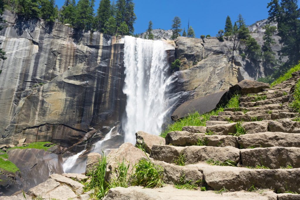 Things-to-do-Yosemite-Vernal-Falls-Shutterstock