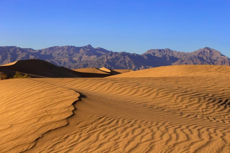 Things to do in Death Valley include rolling down sand dunes