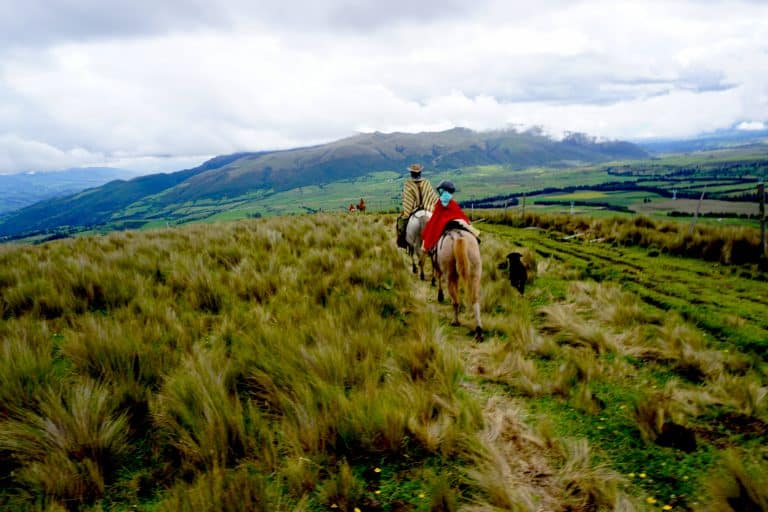 El Porvenir Guest Ranch in South of Quito Ecuador