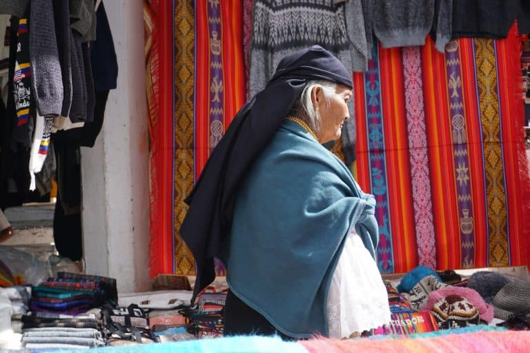 Otavalo Artisan Market North of Quito