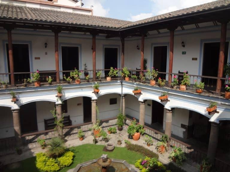 Quito Ecuador - Museo Casa de Sucre Courtyard