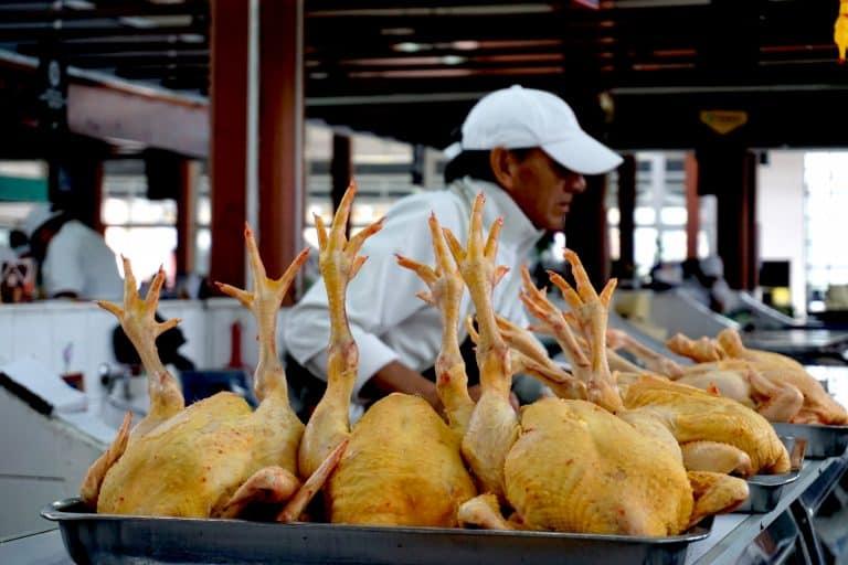 Quito Central Market - Chickens