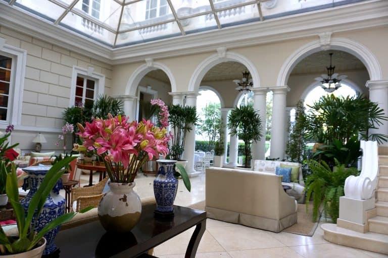 Hotel Casa Gangotena Patio in Quito Ecuador