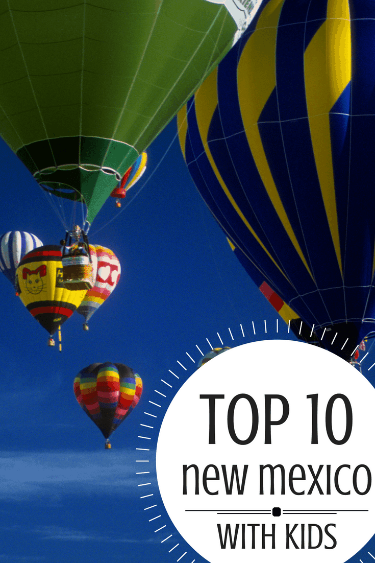 Families love so much about New Mexico but we narrowed it down to the TOP TEN things you should do with kids! #NewMexicoTRUE Photo by Bigstock