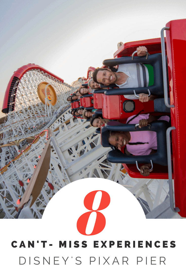 8 Can't-Miss Experiences at Disney's #PixarPier @disneyland #Incredicoaster Pixar Pier is OPEN and we are sharing our favorite must-do experiences at Disney California Adventure's newest land. #PixarPier Image by Disney Parks