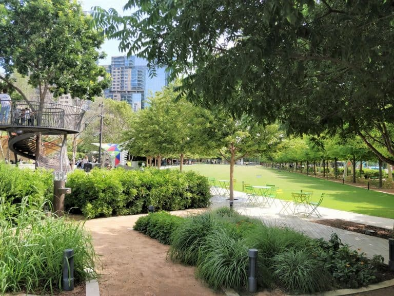 things to do in dallas with kids, Klyde Warren Park