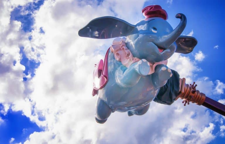 Dumbo Disney and Universal in one visit by flickr hmestre