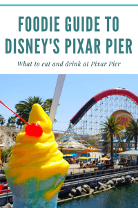 Pixar Pier Food Guide 1