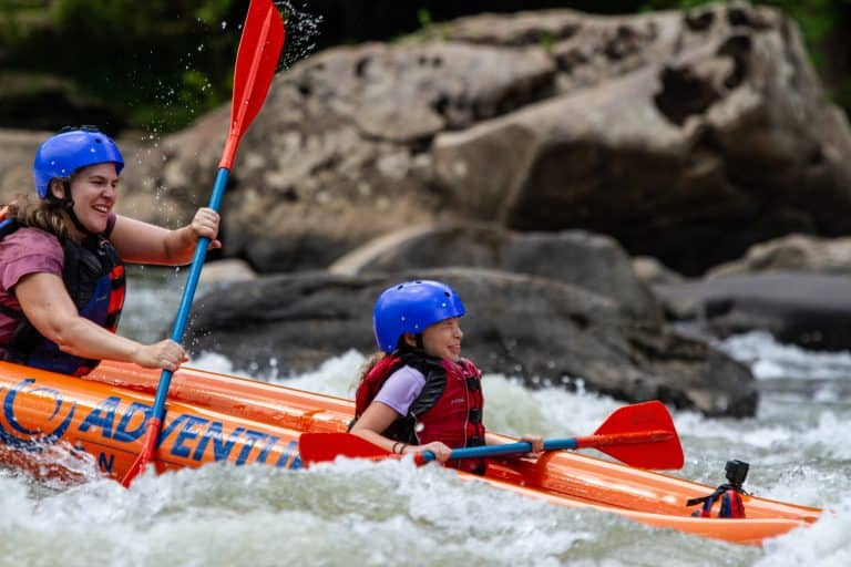 New River Rafting with kids Adventures on the Gorge West Virginia Resorts