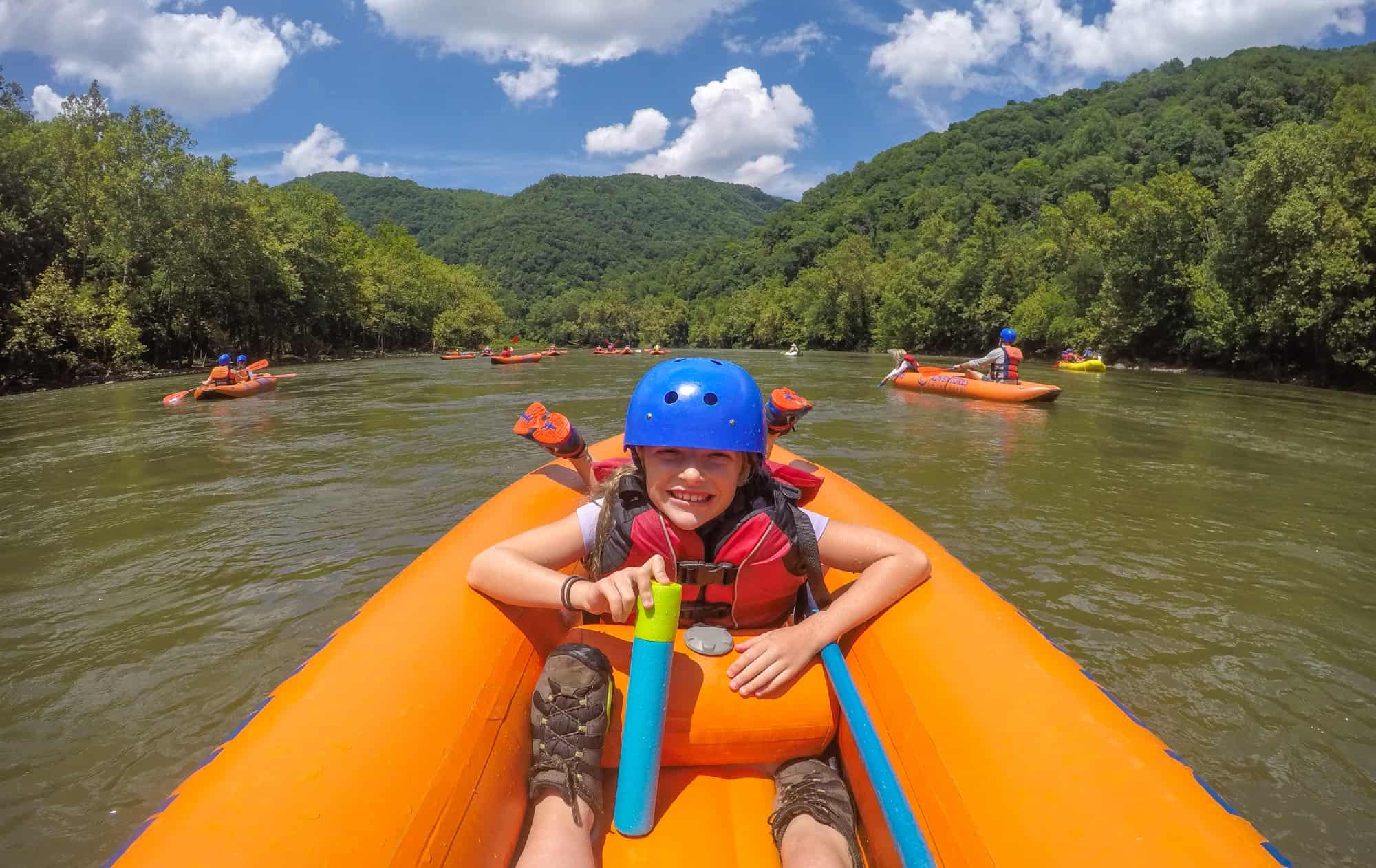 Go New River Rafting With Kids At Adventures On The Gorge