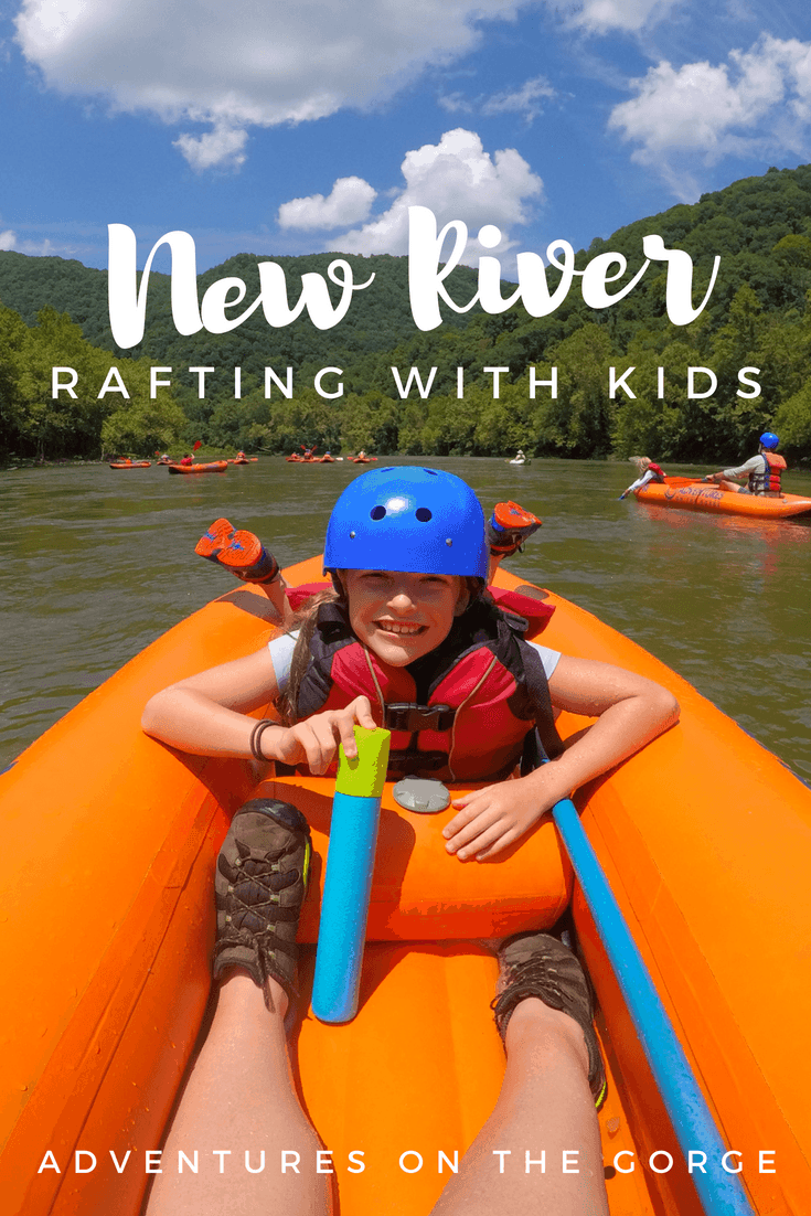 Go New River Rafting at Adventures on the Gorge in West Virginia! The Appalachian Mountains, Summersville Lake, and the New River offer many opportunities for outdoor adventure #familytravel #outdooradventure #travelwithkids #westvirginia #NewRiverGorge #whitewaterrafting