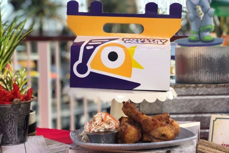 Poultry Palace Pixar Pier Food