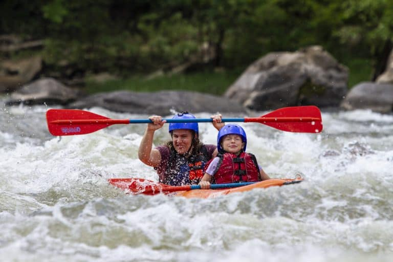 West Virginia Vacation at Adventures on the Gorge includes Whitewater Rafting