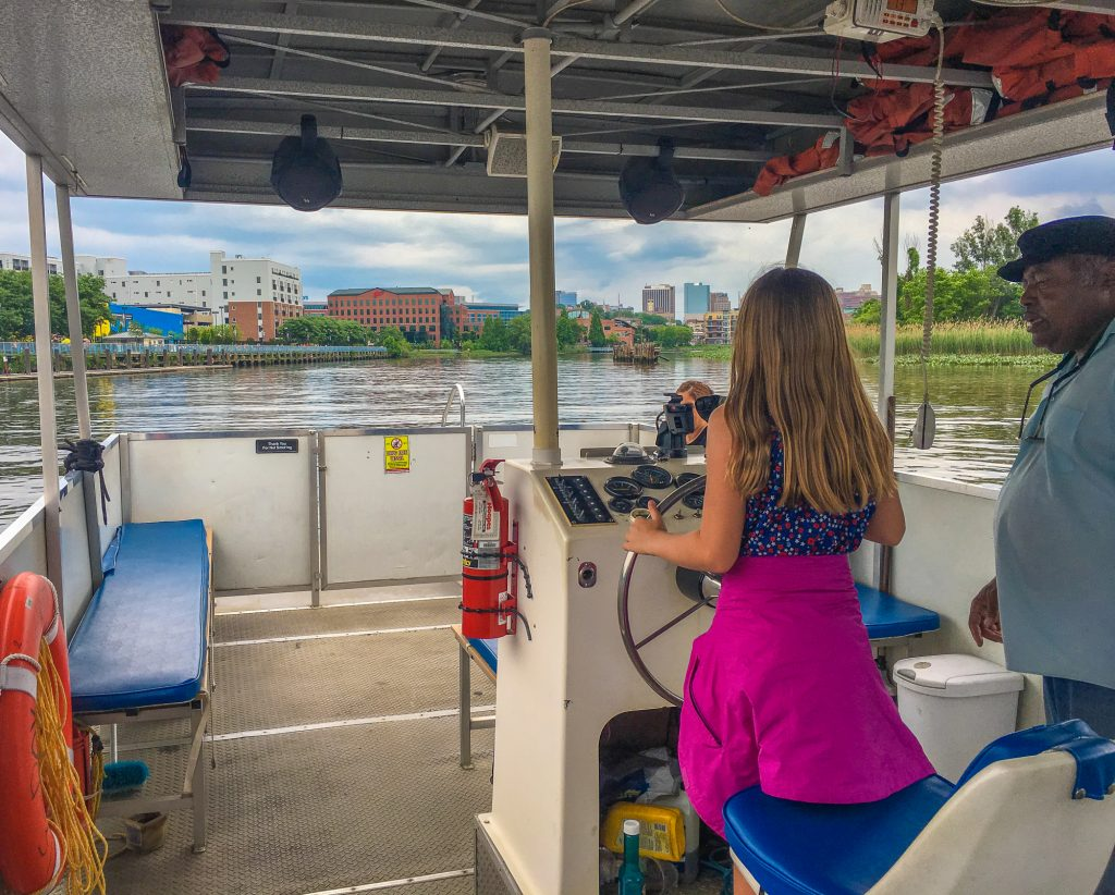 things to do in Wilmington DE include taking the river taxi