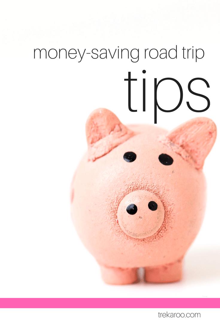 Money Saving Road Trip Tips #roadtrip #familytravel Image by Canva