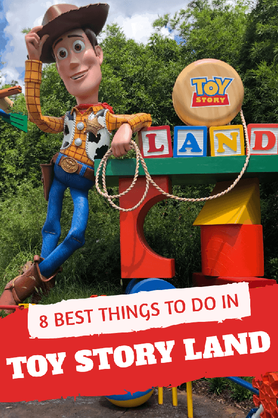 Toy Story Land is now open at Disney World. Here are 8 things you won't want to miss in this fun, new land!