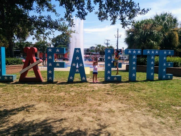 Lafayette Lousiana Texas to Florida Road trip