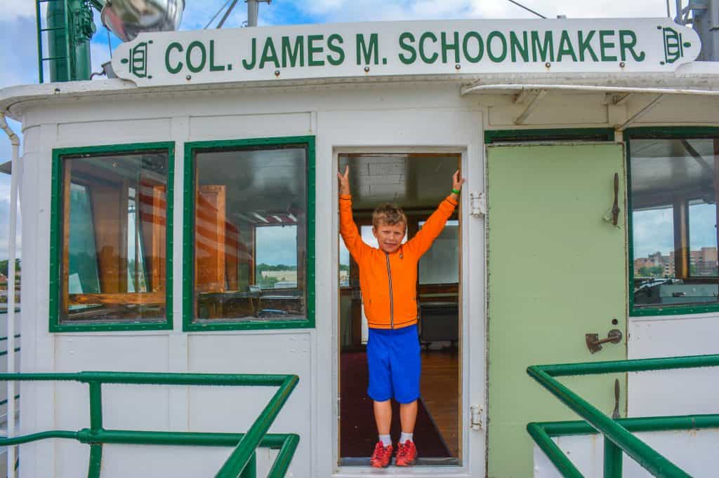 Things to Do in Toledo with Kids Col James Schoonmaker ship