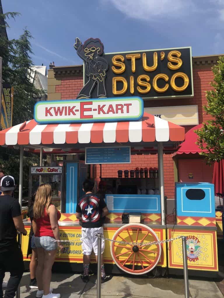 Universal Studios food Kwik-E-Cart