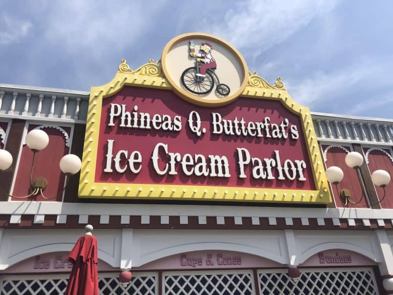 Phineas Q. Butterfat's Ice Cream at Universal Studios Hollywood