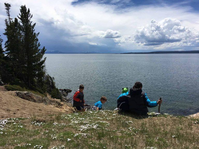 yellowstone camping lake yellowstone