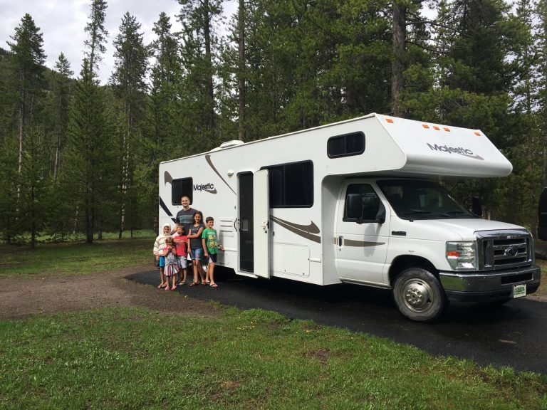 yellowstone campgrounds madison