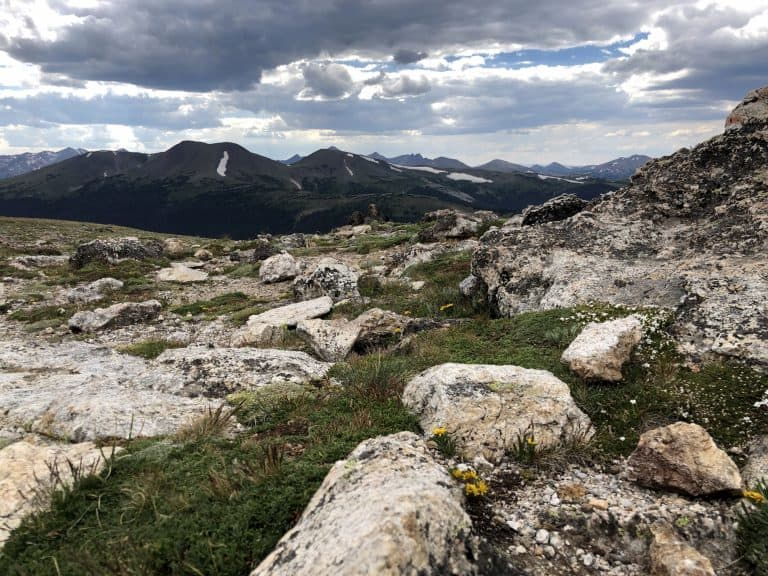 Best hikes in Rocky Mountain National Park Alpine Ridge