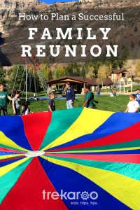 Ideas for family reunion planning