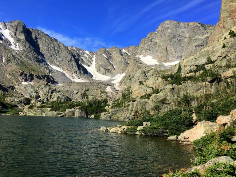 Best hikes in Rocky Mountain National Park Sky Pond