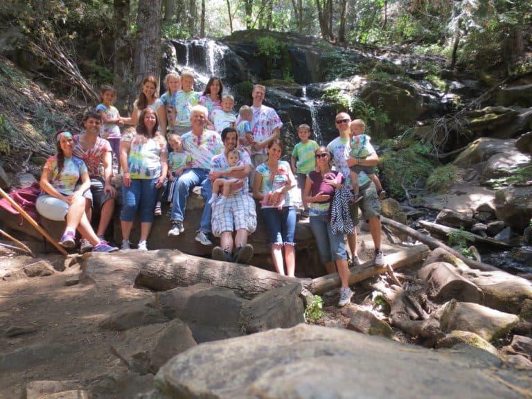 family reunion ideas sequoia national park