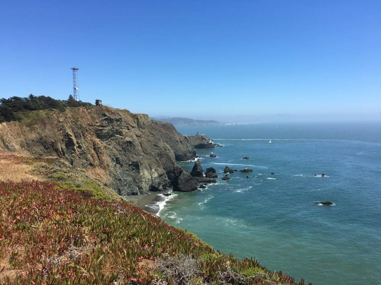 A visit to the Marin Headlands is an ideal day trip from San Francisco