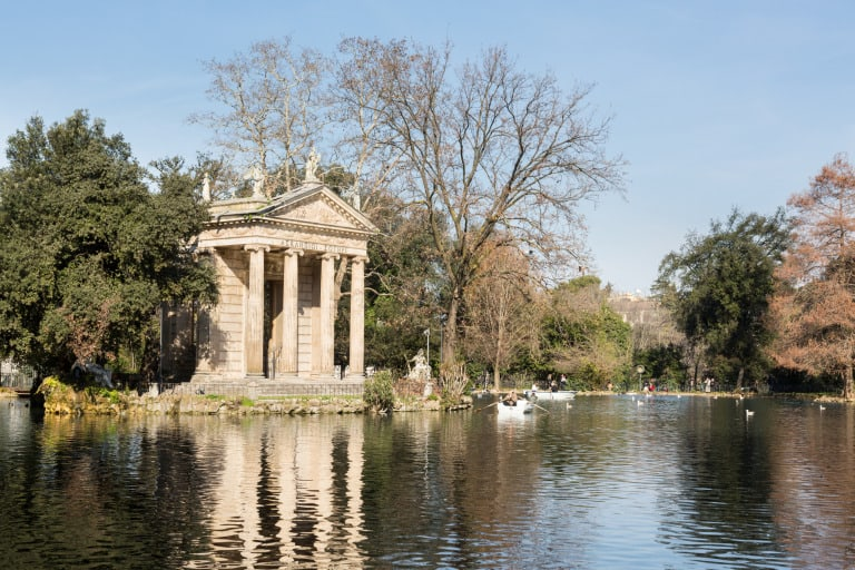 Things to do in Rome with kids Giardino del Lago