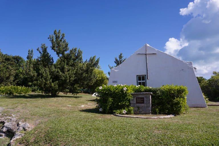 Heydon Chapel in Bermuda Island