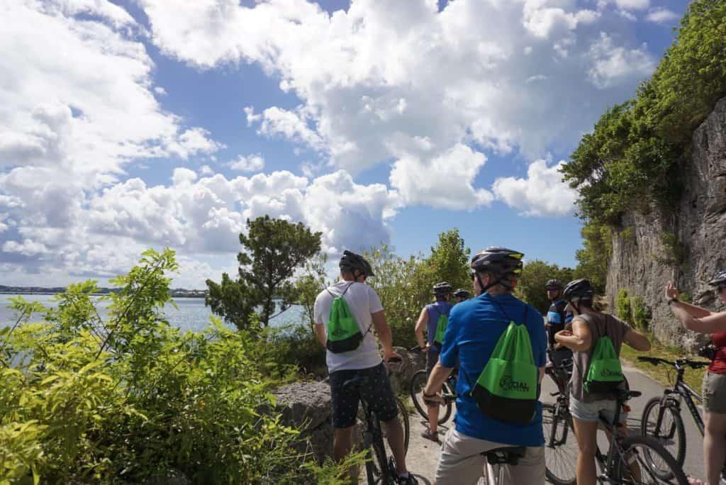 Biking Bermuda Island on the Old Railway Trail